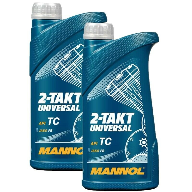 2 liter mannol 2 takt universal motor l api tc jaso fb motorrad l mofa roller 4251211728085 ebay. Black Bedroom Furniture Sets. Home Design Ideas