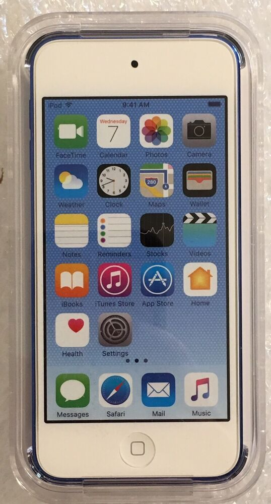 apple ipod touch 16gb 6th generation blue 888462350167 ebay. Black Bedroom Furniture Sets. Home Design Ideas