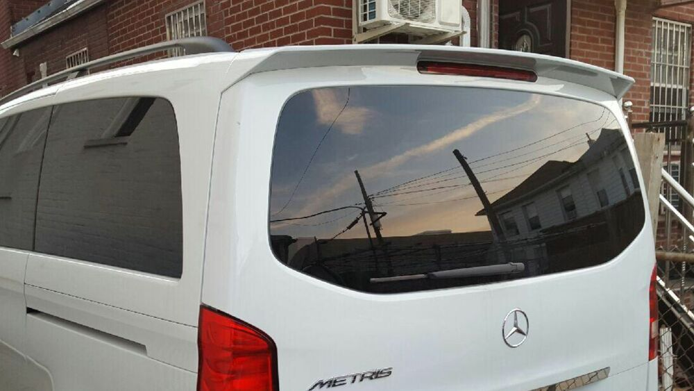 mercedes benz metris rear tailgate roof spoiler wing w447. Black Bedroom Furniture Sets. Home Design Ideas