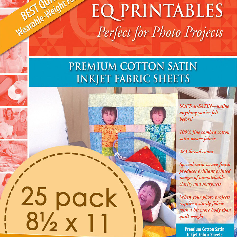 Invaluable image with printable fabric sheets for quilting