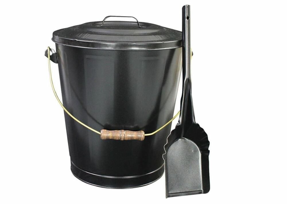Vogelzang Ash Container Shovel Hearth Fireplace Wood Stove