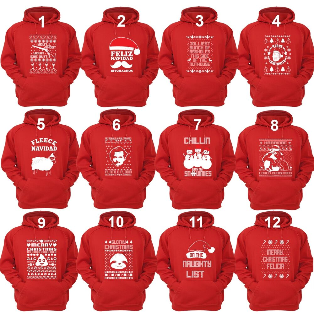 Unisex UGLY CHRISTMAS SWEATER Vacation Santa Funny Women's ...