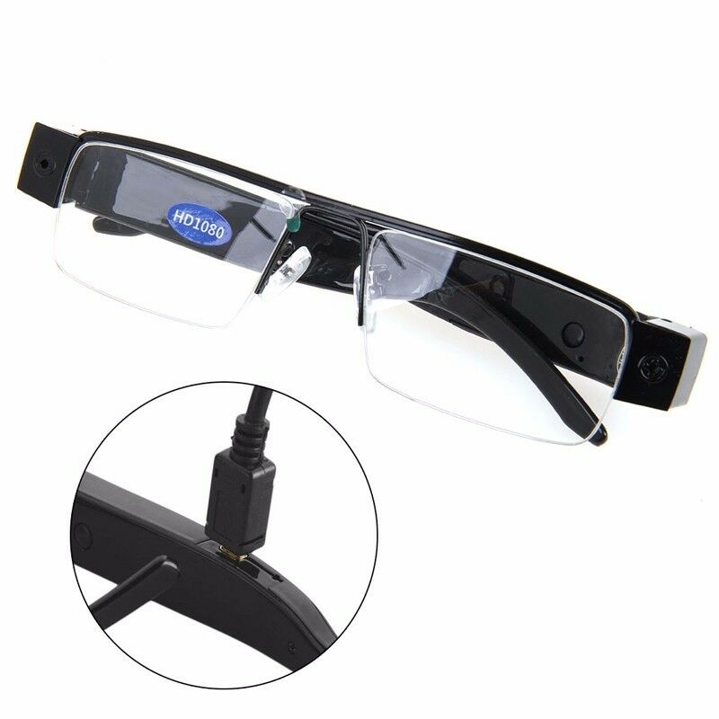 HD 1080P Spy Hidden Half Frame Glasses Camera DVR Video ...