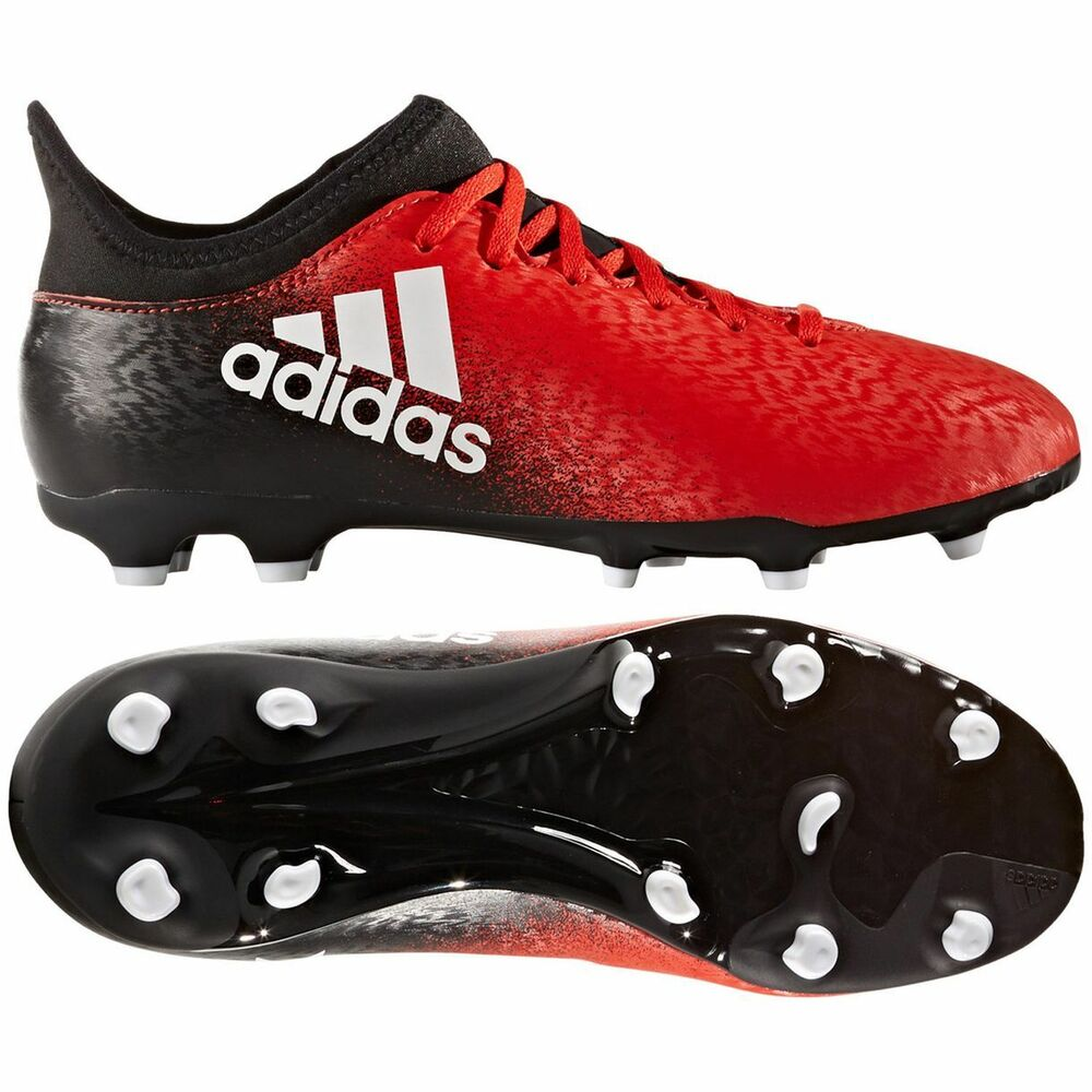 Red Soccer Shoes
