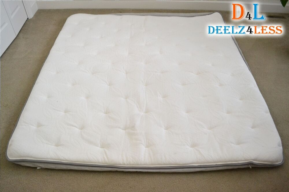 Select comfort sleep number queen king pillow top cover for Sleep by number mattress