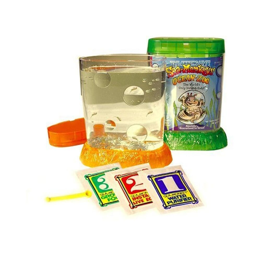 sea monkeys ocean zoo kids fun educational science nature toy ebay. Black Bedroom Furniture Sets. Home Design Ideas