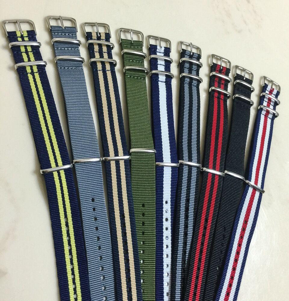 how to handle nylon watch band