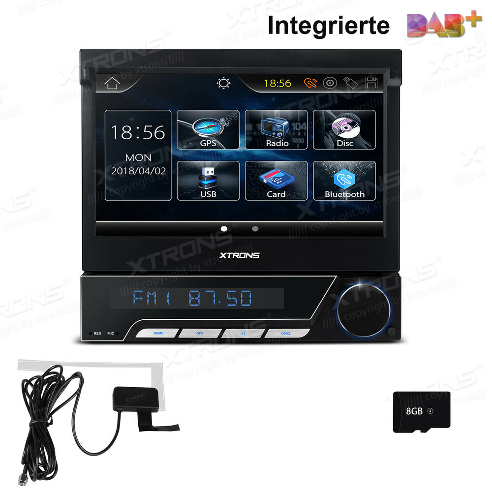 7 bildschirm autoradio bluetooth 5 0 navigation gps dvd. Black Bedroom Furniture Sets. Home Design Ideas