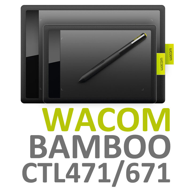 one by wacom bamboo ctl471 ctl671 graphics drawing tablet pen for windows mac ebay. Black Bedroom Furniture Sets. Home Design Ideas