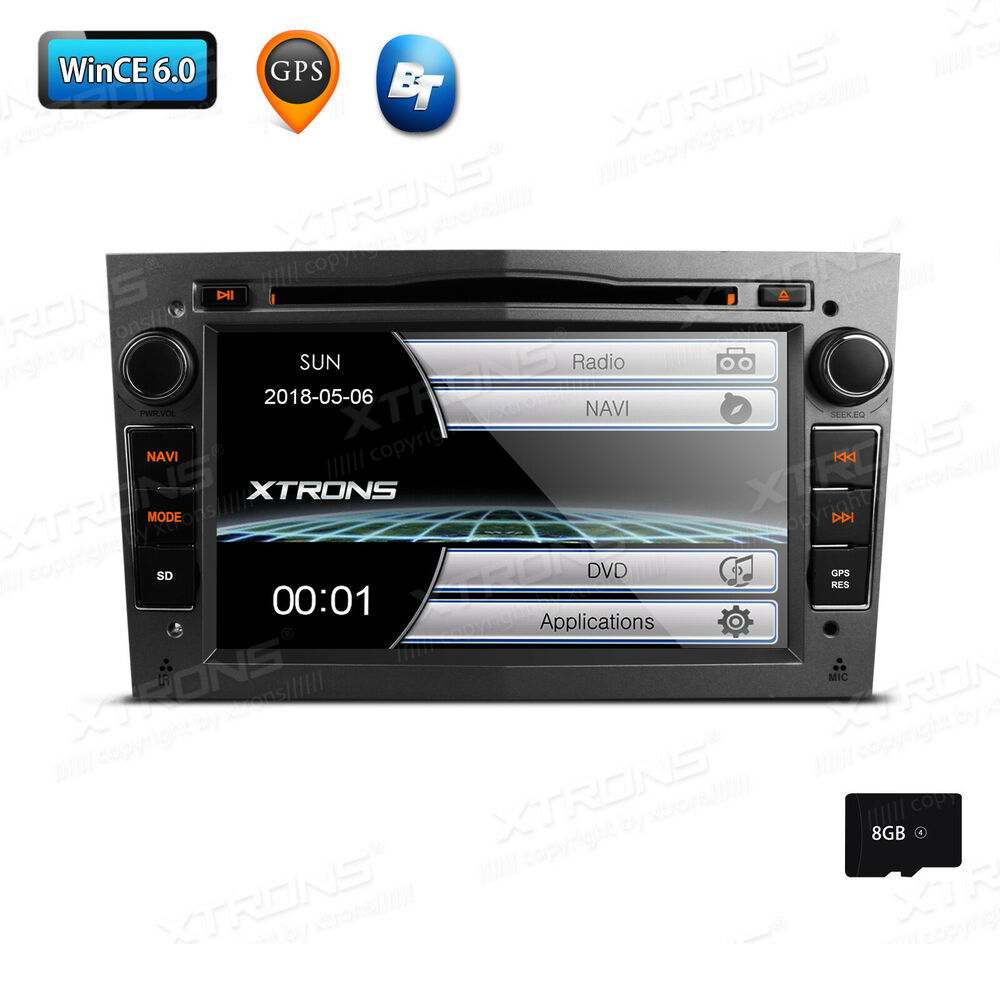 7 autoradio dvd gps screen mirror f r opel astra h antara. Black Bedroom Furniture Sets. Home Design Ideas