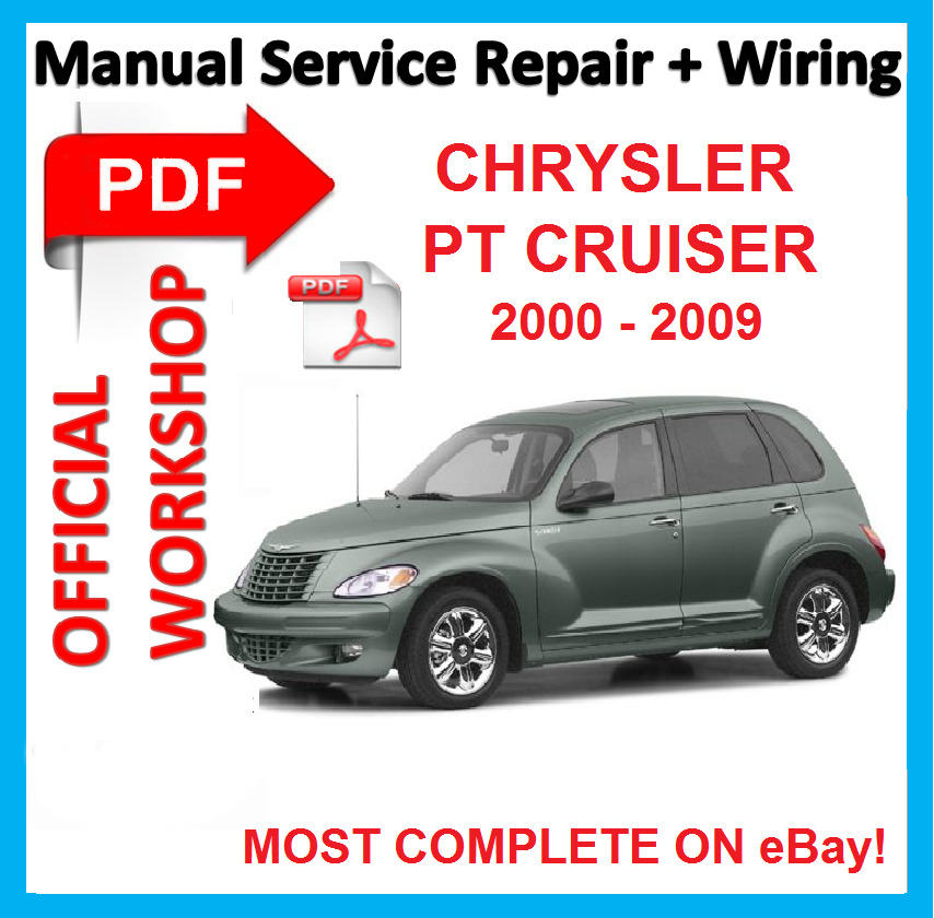 official workshop manual service repair for chrysler pt. Black Bedroom Furniture Sets. Home Design Ideas