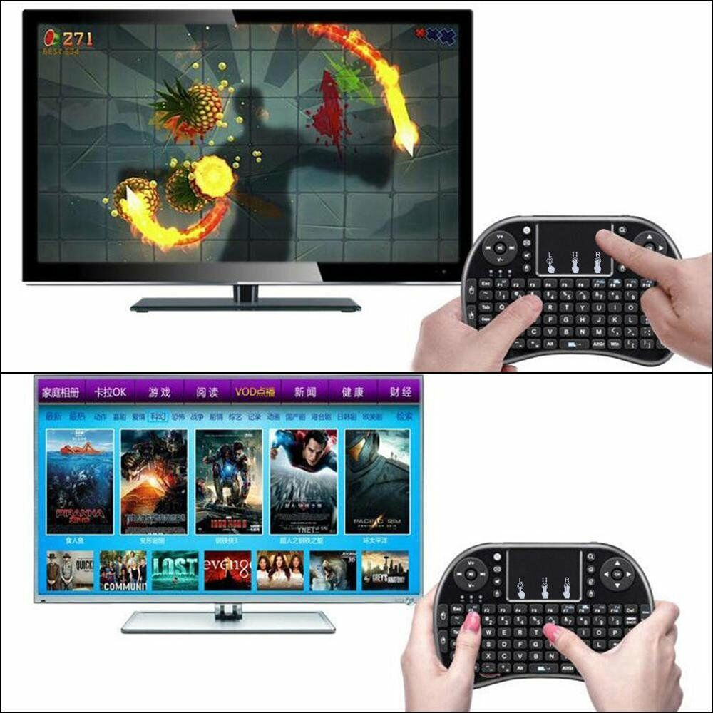 new wireless amazon firestick bluetooth keyboard remote for android free ship ebay. Black Bedroom Furniture Sets. Home Design Ideas