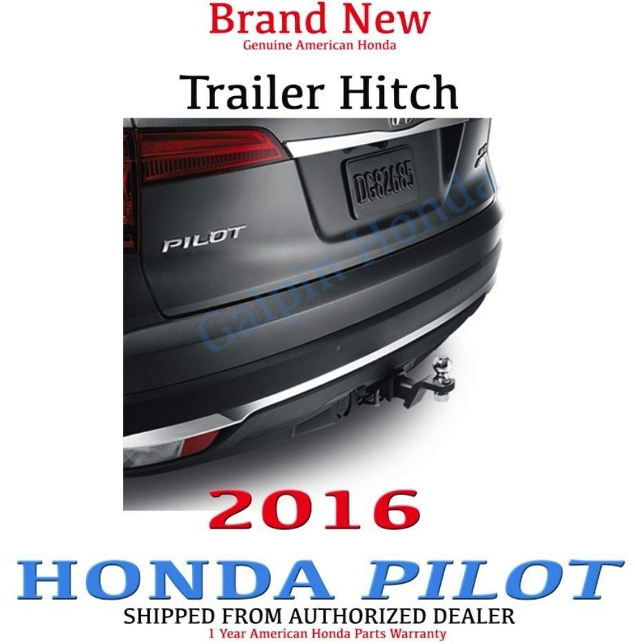 2016 2017 new oem honda pilot trailer hitch ebay. Black Bedroom Furniture Sets. Home Design Ideas