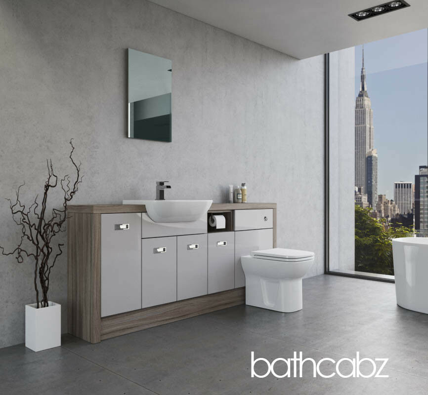 Brilliant Muse Fitted Furniture  R2 Bathrooms