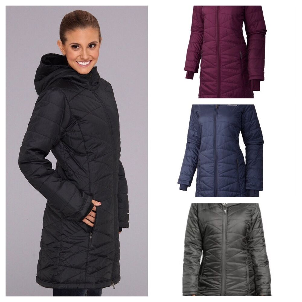 Insulated winter coats for women