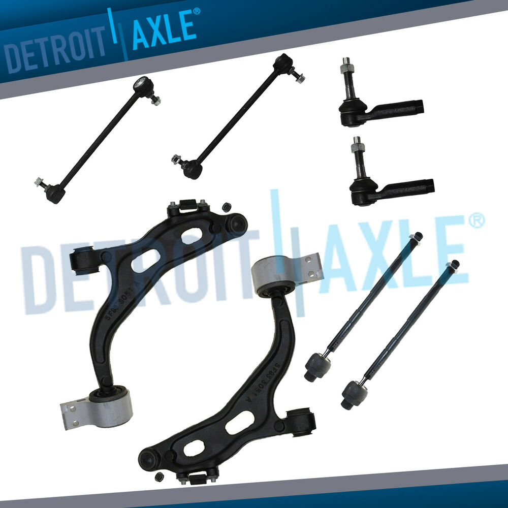 2007 Maybach 57 Suspension: NEW 8pc Complete Front Suspension Kit For 2005-2007 Ford