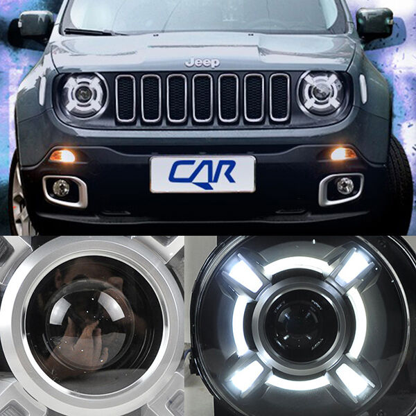 For 2015 2017 Jeep Renegade Hid Led Headlight With Drl And