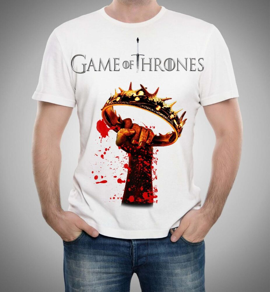 Game of thrones t shirts ebay for Game t shirts uk