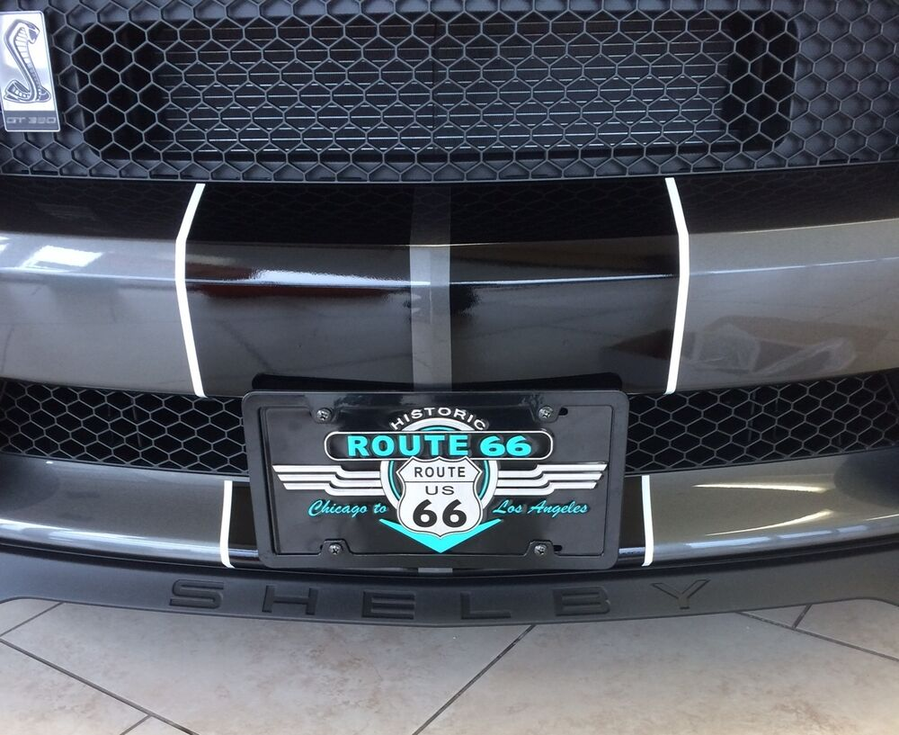 Ford F150 Shelby 2017 >> 2015 2016 2017 2018 Ford Mustang GT350 Shelby License Plate Mount / Bracket | eBay