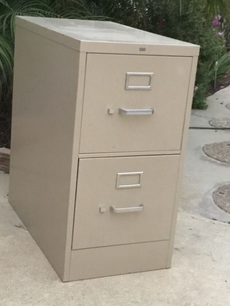 2 Drawer Letter Size File Cabinet By Hon Office Furniture