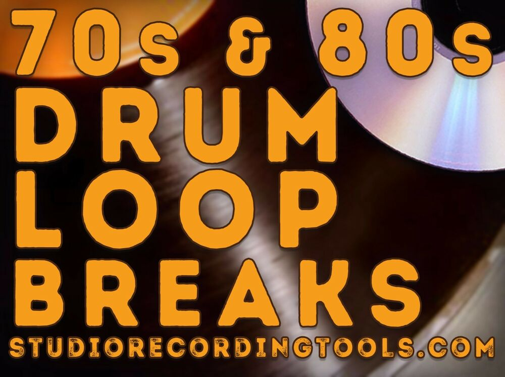 70s 80s Vol 2 Breakbeat Drum Loop Hip Hop Funk Break Wav