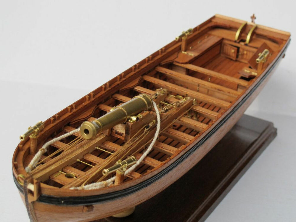 LONGBOAT ARMED FOR WAR wood ship model kit Scale 1/36 42FT ...