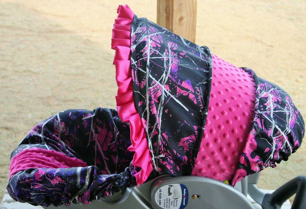 And muddy girl car seat covers