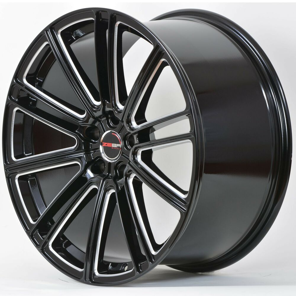 4 GWG Wheels 20 Inch STAGGERED Laser Mill FLOW Rims Fits