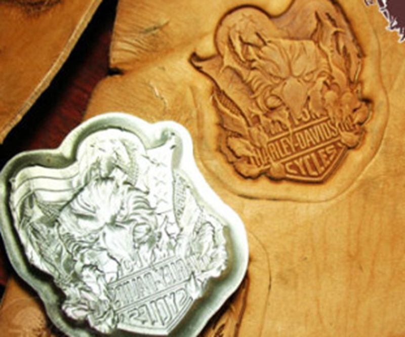 Leathercraft tools leather stamp mold eagle stamps ebay
