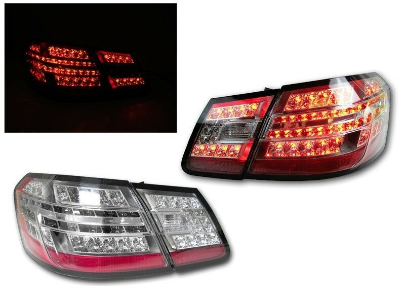Mercedes S Class Trasparent Tail Light