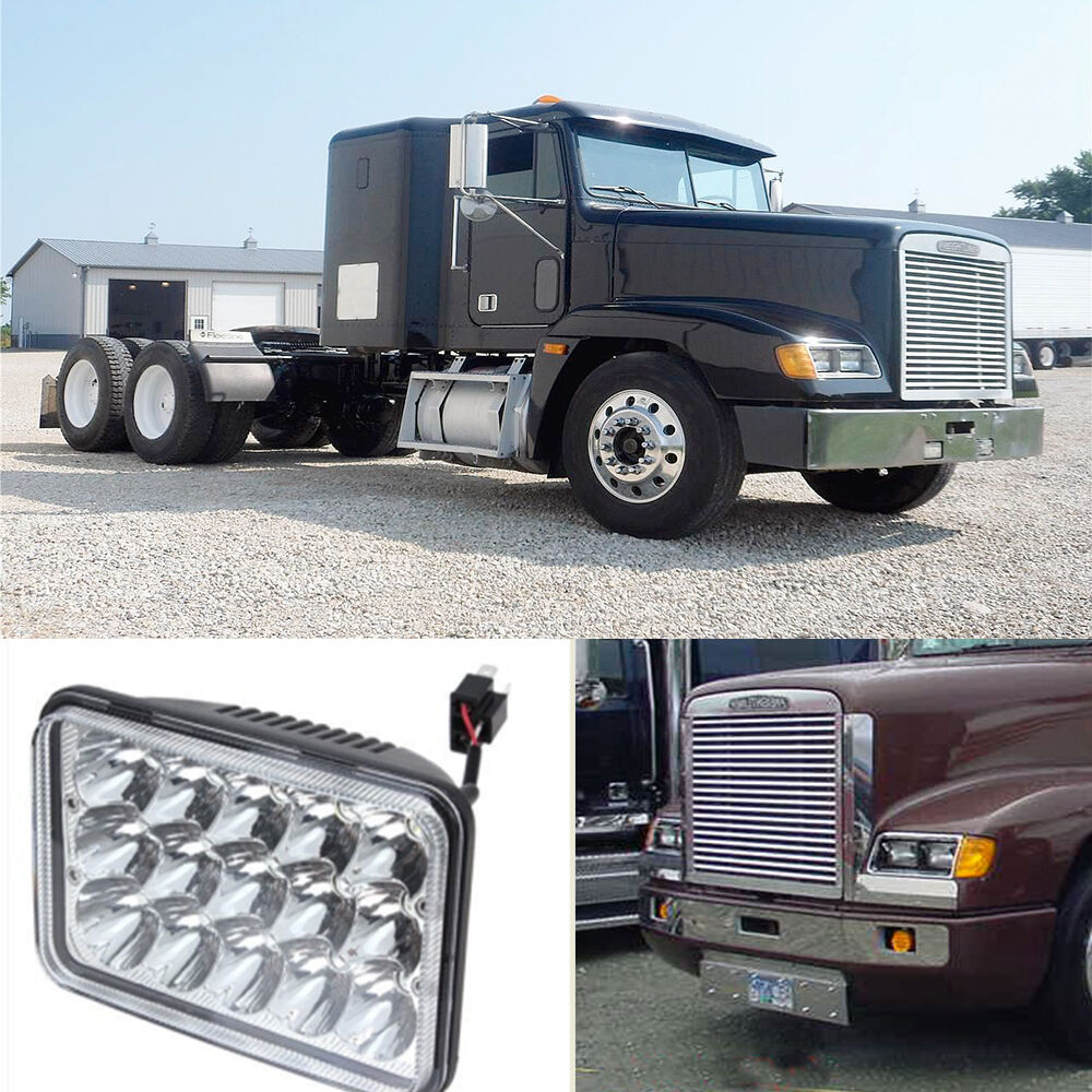 Freightliner Fld Projector Headlights : Led headlight projector lens sealed beam bulb for