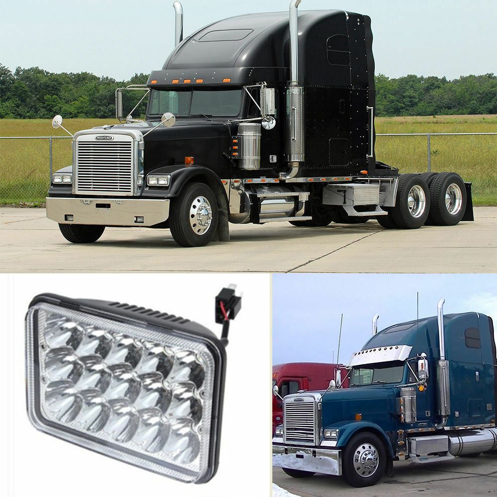 Freightliner Fld Projector Headlights : Freightliner classic projector led headlight high low