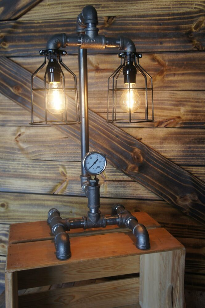 Edison Age Industrial Lamp Steampunk Table Lamp Vintage
