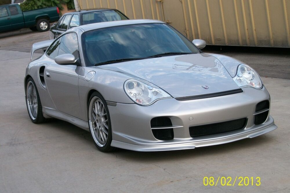 porsche 996 gt2 front bumper will fit 996 turbo and. Black Bedroom Furniture Sets. Home Design Ideas