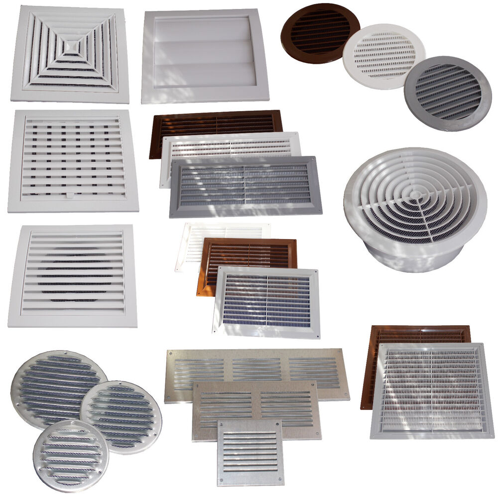 Air Vent Grille Cover Ventilation Grill Covers Gravity