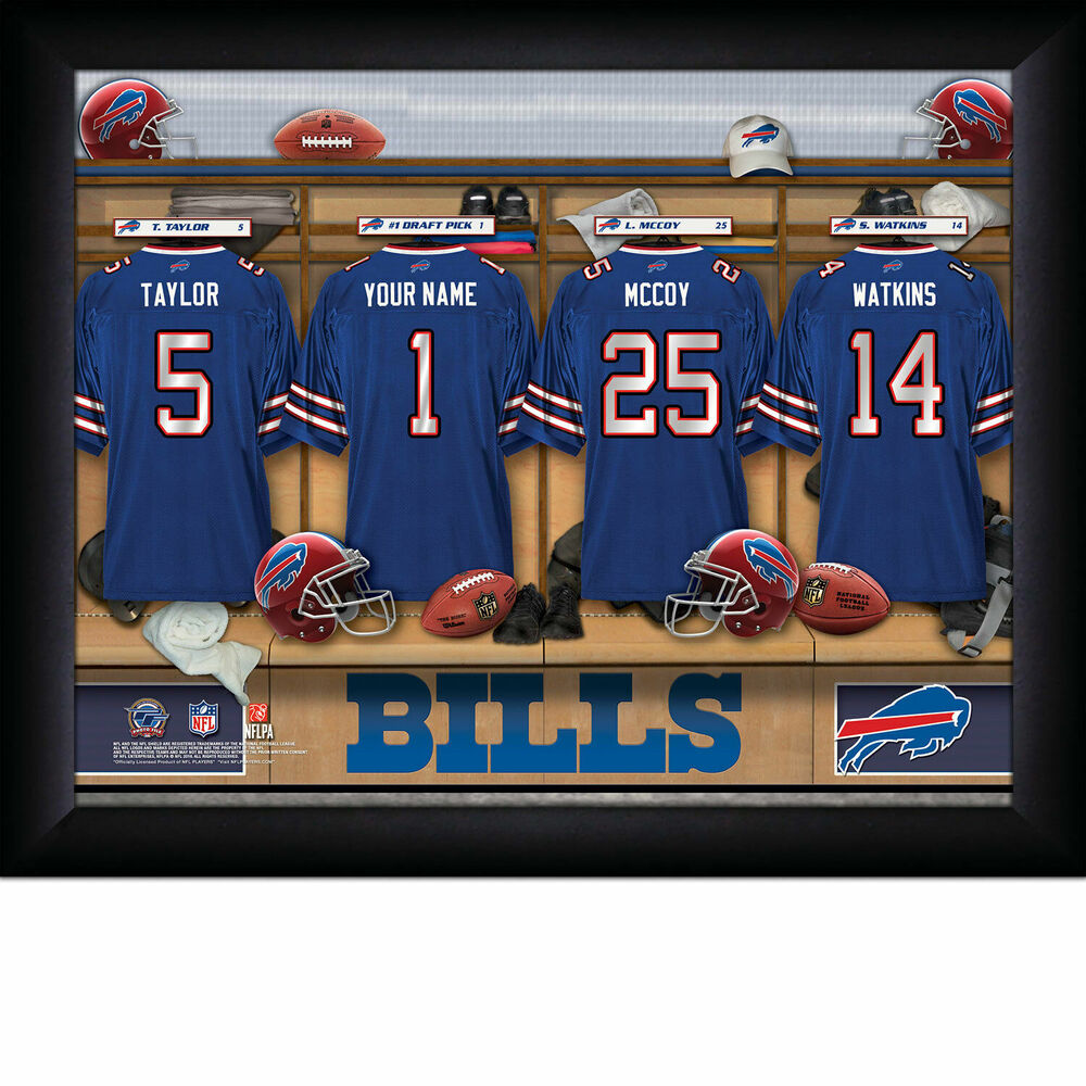 Personalized Nfl Locker Room Pictures