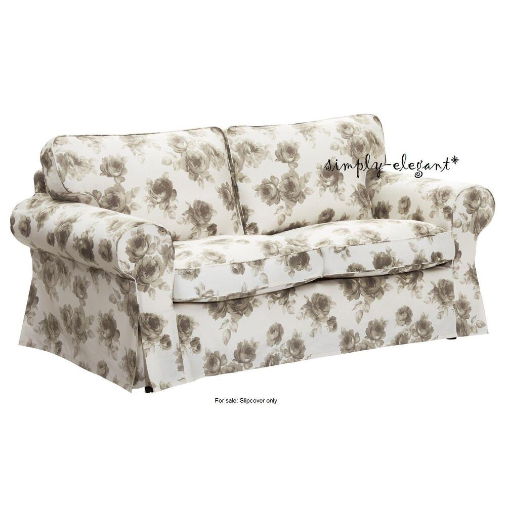Ikea Cover For Ektorp Loveseat 2 Seat Sofa Slipcover
