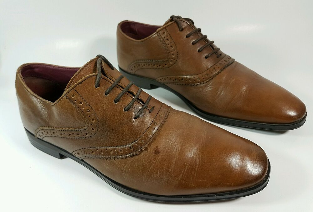 next brown leather casual shoes uk 7 eu 41 ebay