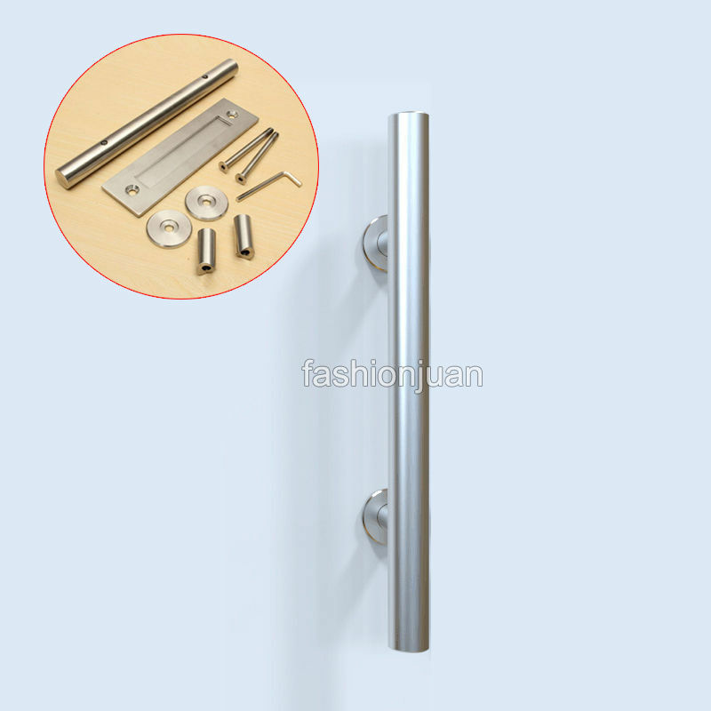 Hot Stainless Steel Sliding Barn Door Handle Wood Door