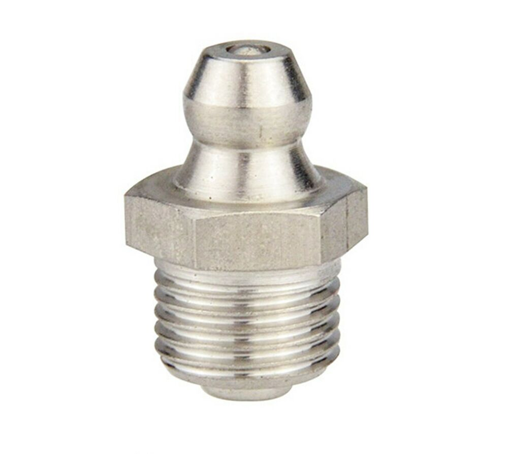 M mm metric stainless steel grease zerk nipple