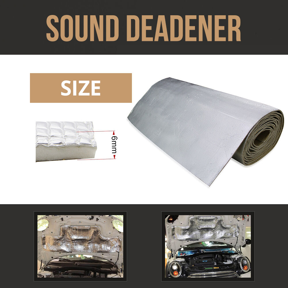 Firewall Sound Deadener Car Heat Shield Insulation