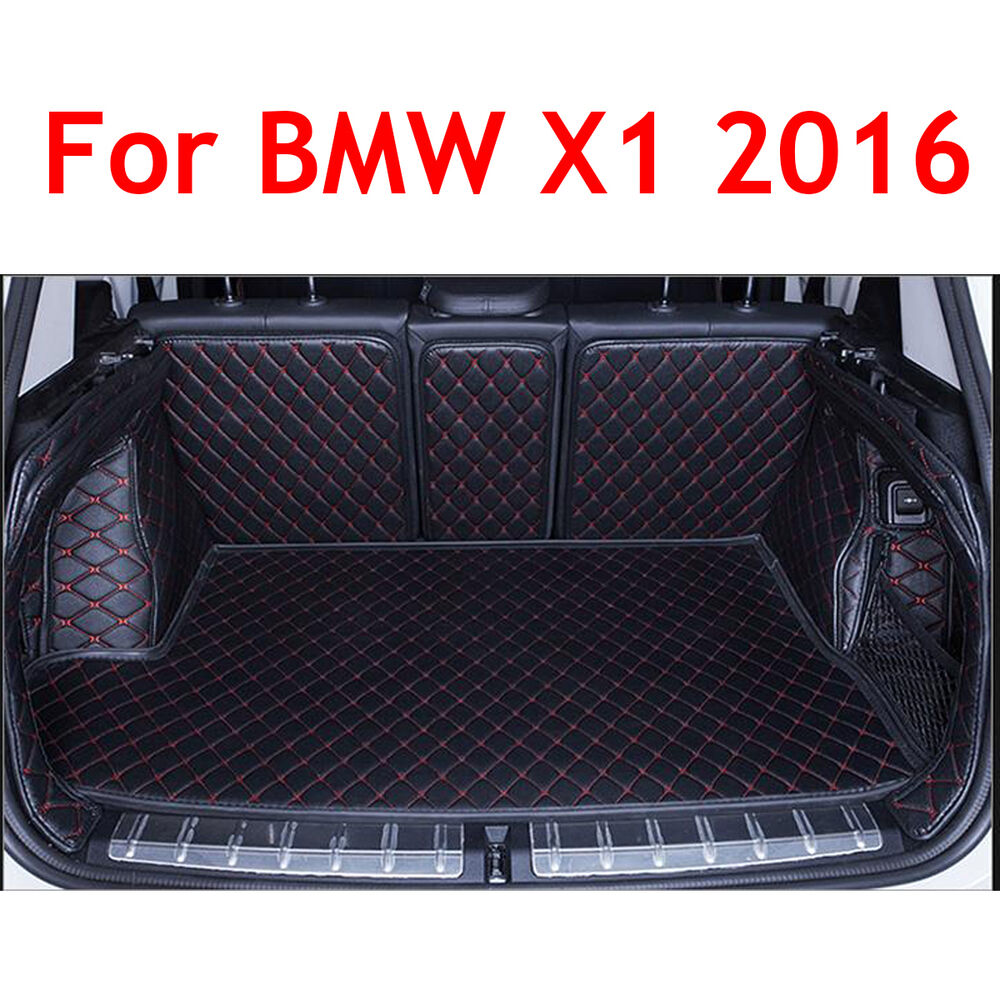 Bmw Car Mats Ebay >> For BMW X1 2016-2017 Trunk Mat Cargo Boot Liner Car Waterproof Carpet Full Cover | eBay