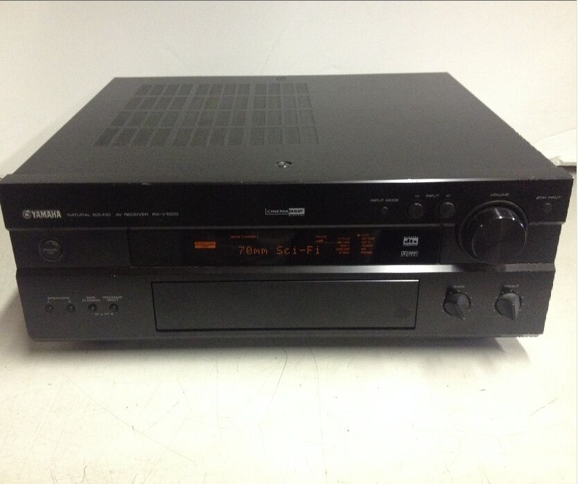Yamaha rx v1000 5 1 channel 500 watt stereo receiver for for Yamaha tv receiver