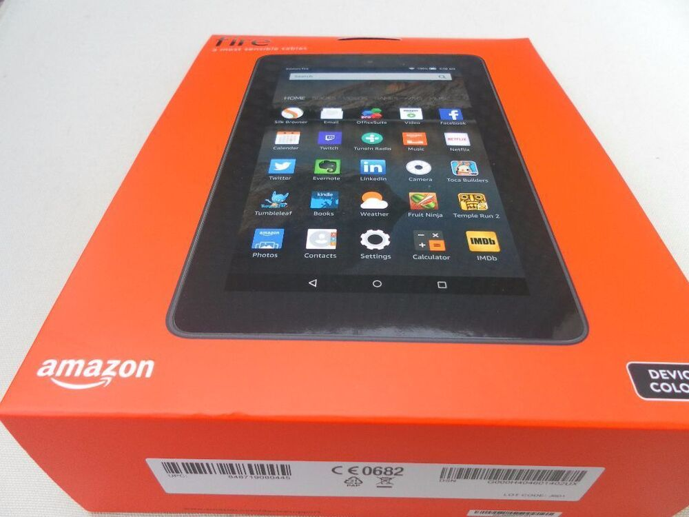 brand new boxed sealed amazon fire 7 inch wifi tablet 8gb ebay. Black Bedroom Furniture Sets. Home Design Ideas