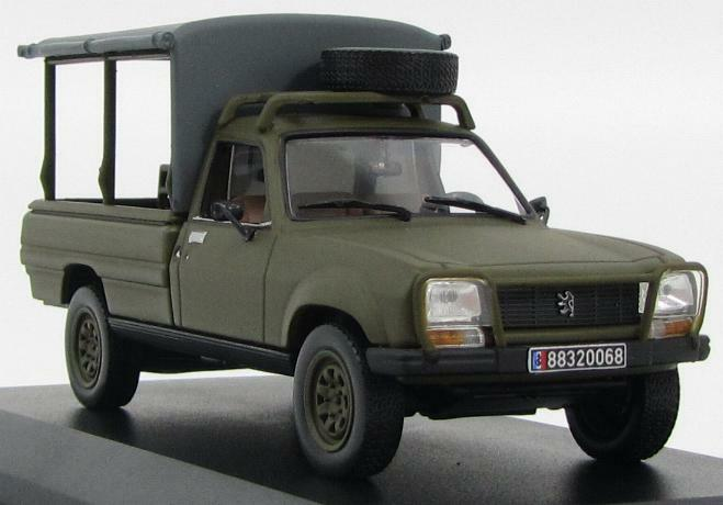 peugeot 504 pick up army 1 43 norev ebay. Black Bedroom Furniture Sets. Home Design Ideas