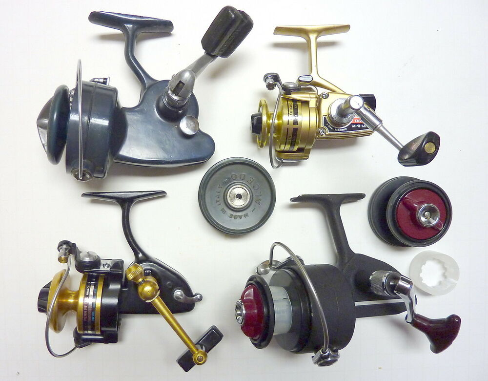 Vintage international spinning fishing reel collection for Penn fishing reels ebay