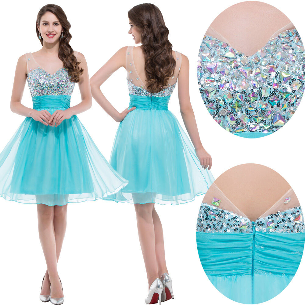 Teens Short Prom Party Dress Evening Bridesmaid Cocktail