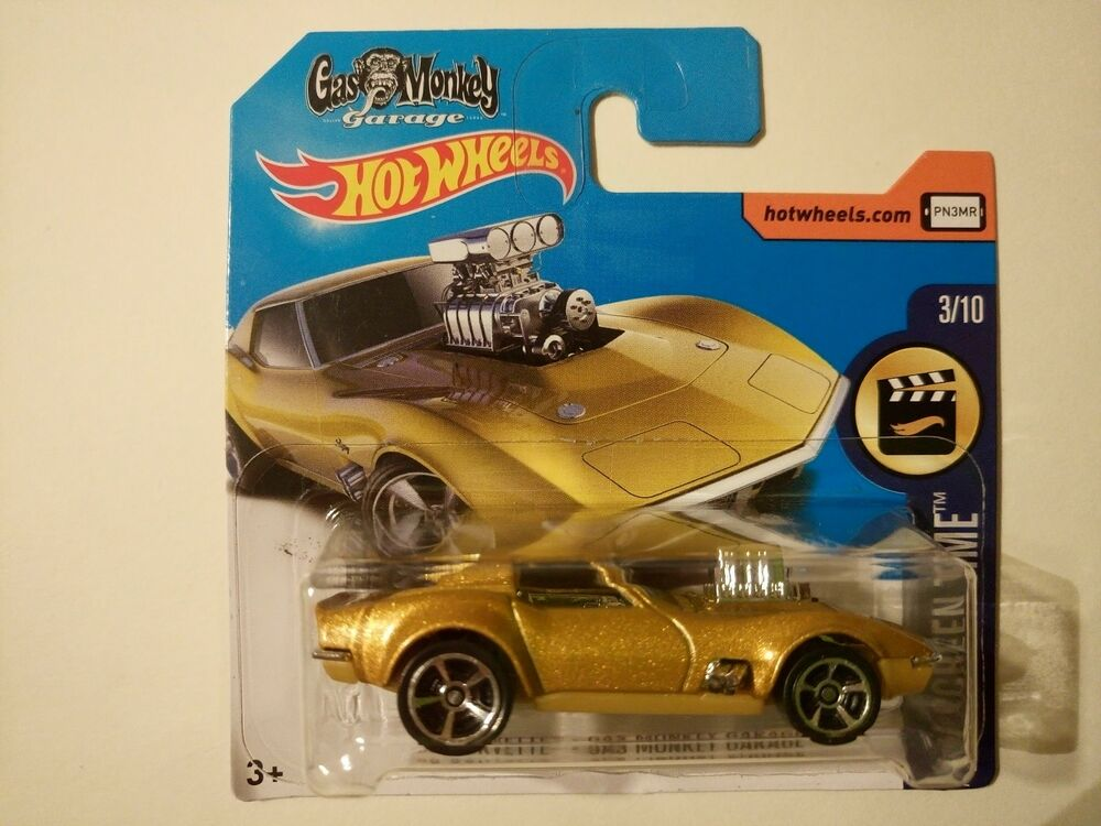 HOT WHEELS 2017 68 CORVETTE GAS MONKEY GARAGE DHN90