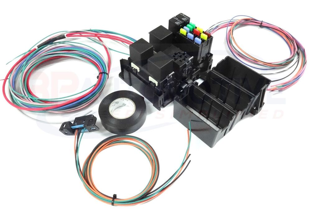 ls swap diy harness rework fuse block kit for ls ... ls1 wiring box