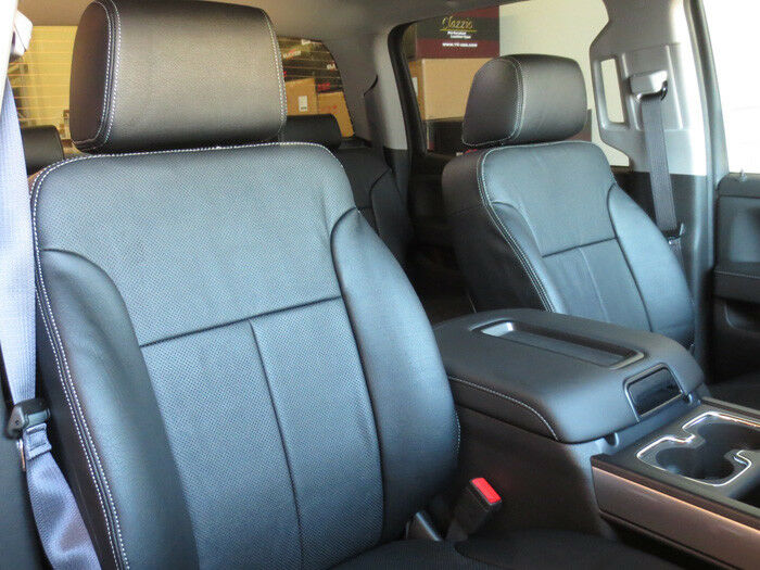 chevy silverado clazzio leather seat covers ebay. Black Bedroom Furniture Sets. Home Design Ideas